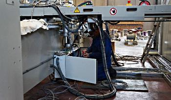 montaż instalacji przemysłowych